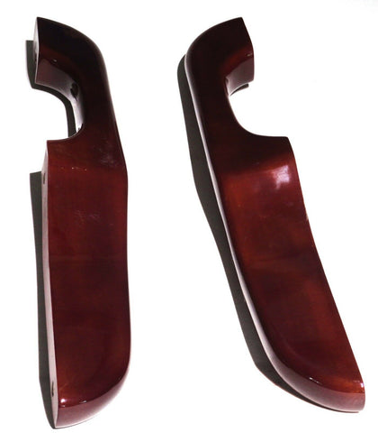 armrest set(2) wood reversed handle for Peterbilt 1987-2001 cab door arm rest