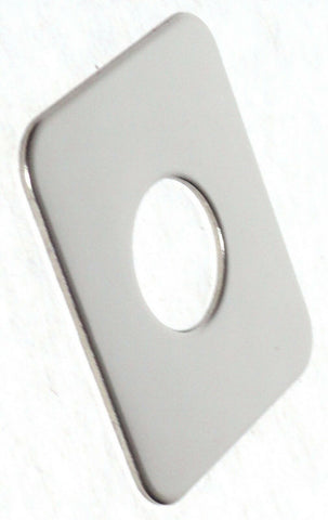 GG Switch Plate for Freightliner Blank No Lettering Plain Stainless Steel #68776