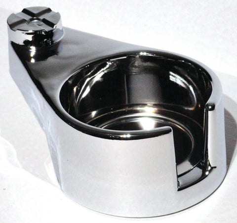 cup holder passengers side chrome plastic for Freightliner Classic FLD