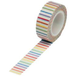 Trendy Tape Primary Color Vertical Stripe