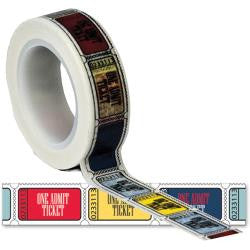 Trendy Tape Travel Tickets