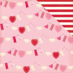 Valentine Bunting - Blowing Kisses