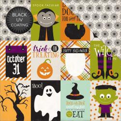 3X4 Journaling Card- Halloween