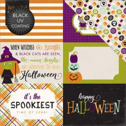 4x6 Journaling Cards- Halloween