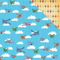 toybox - airplanes soaring - carta bella