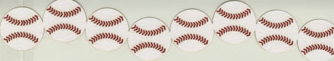 Baseballs Layered Die Cut