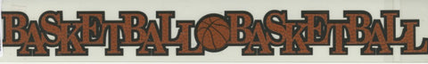 Basketball Text Layered Die Cut