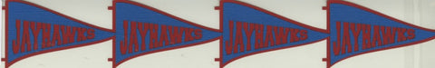 Jayhawk Pennant Layered Die Cut