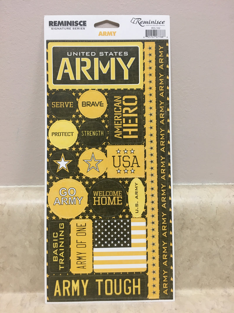 Army Stickers
