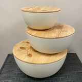Botanica Bowls with Lids - Set of 3