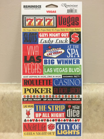 Vegas Stickers