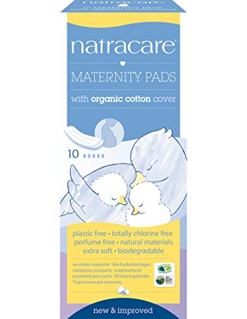Natracare Maternity Pads (Qty 10)