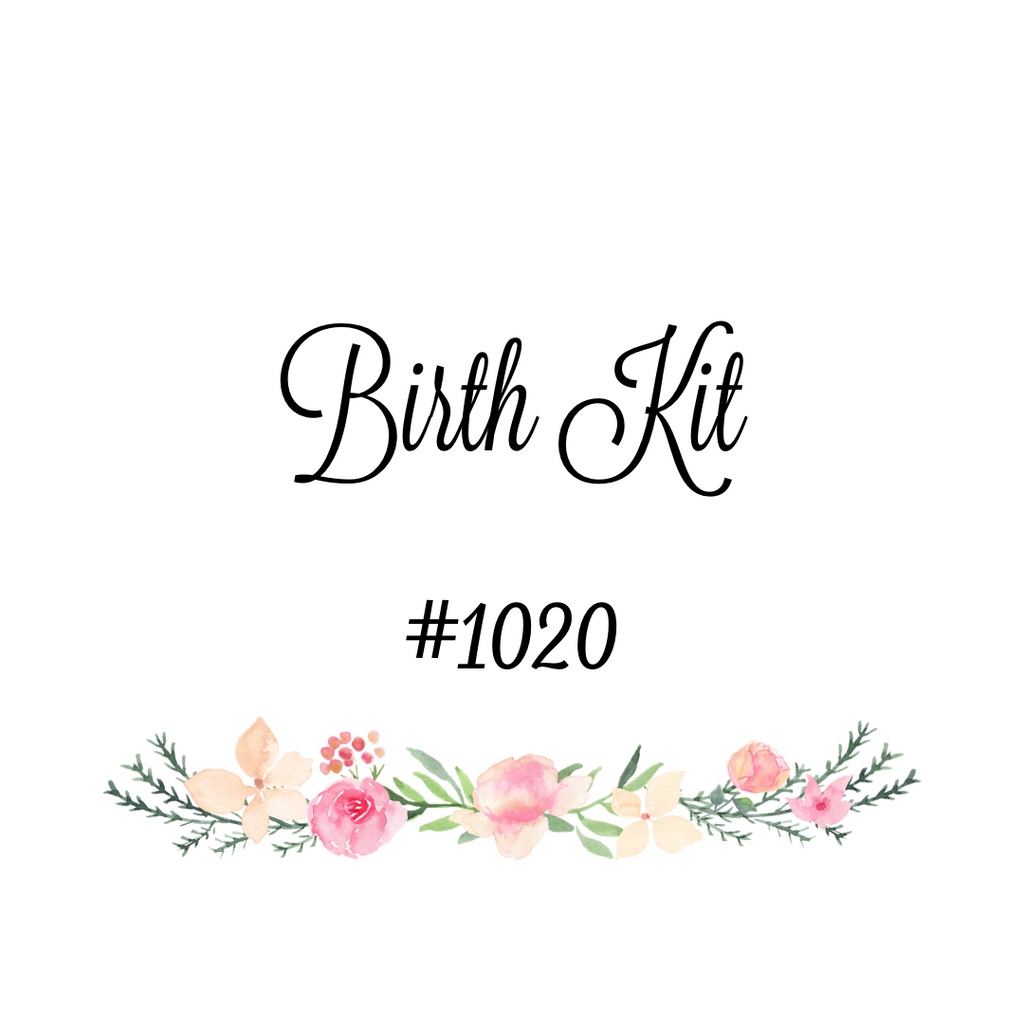 Custom Birth Kit #1020