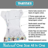 Thirsties Natural Diaper