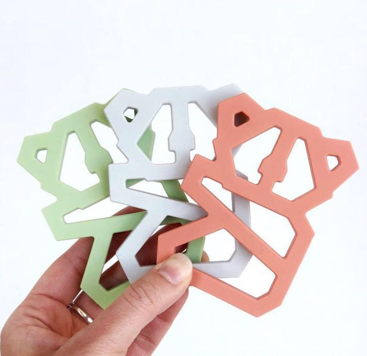 Geometric Toothy Teethers
