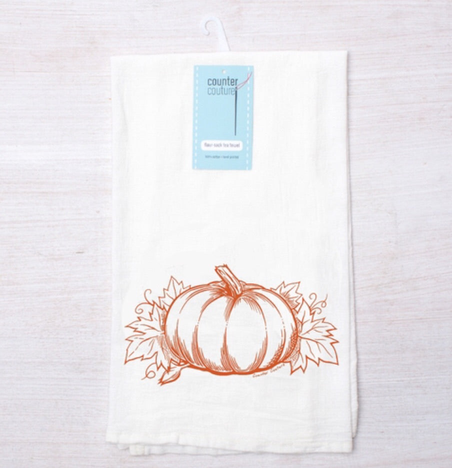 Counter Culture Pumpkin Tea Towel