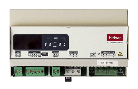 Helvar DIGIDIM 454 4-Channel Dimmer