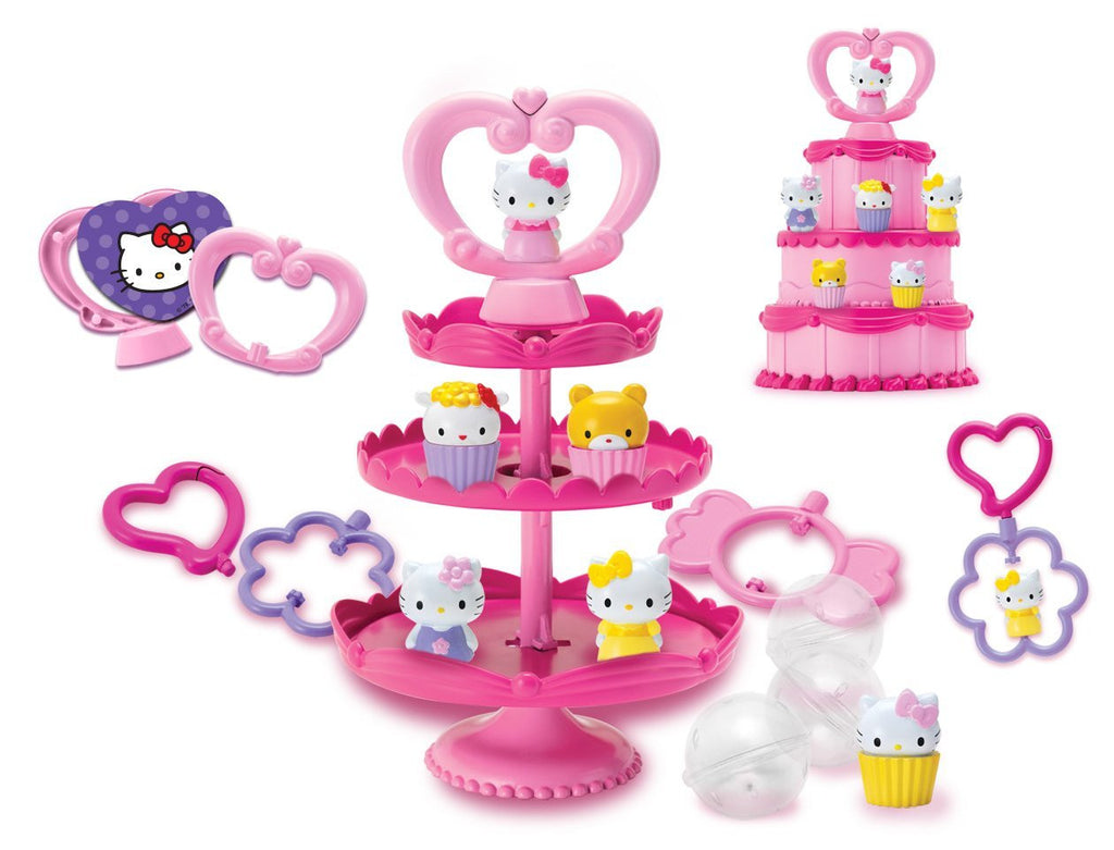 Hello Kitty Squishy Deluxe Cake N Stand Set Toy India Shophletcom