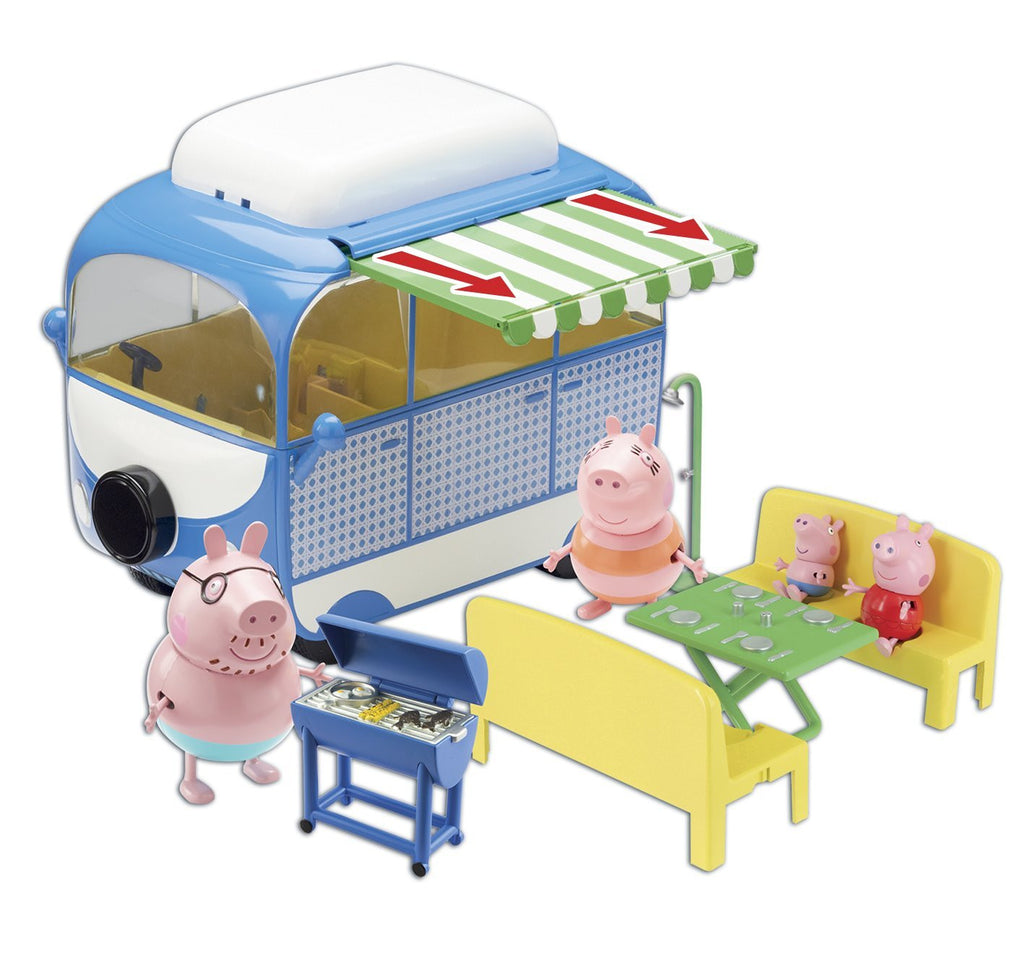 Peppa Pig Holiday Time Campervan Playset Toy India Online