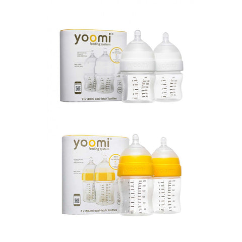 5oz Feeding Bottle (2 units) + 8oz Feeding Bottle (2 units) - 50% off