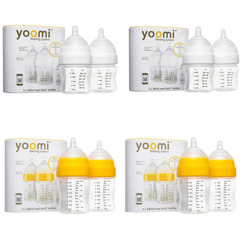 5oz Feeding Bottle (4 units) + 8oz Feeding Bottle (4 units) - 60% off