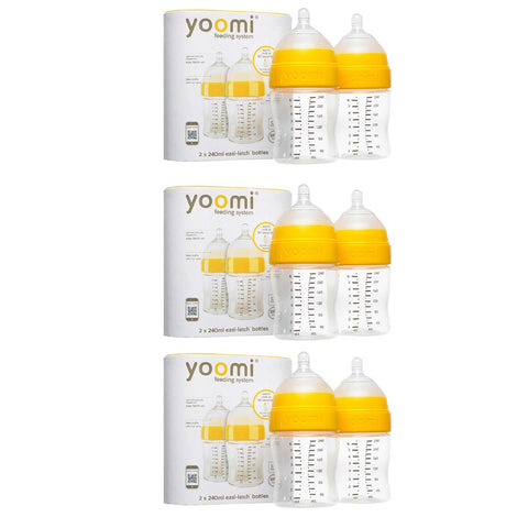 8oz Feeding Bottle (6 units) - 60% off
