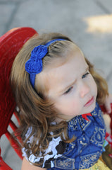 Baby Girls, U-pick Petite Chiffon Bow Headband - Happy BOWtique - children's clothing, Baby Girl clothing