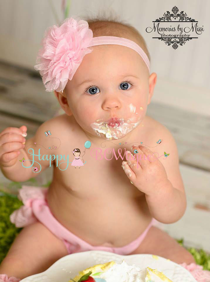 Baby Pink Bloomer Set - Happy BOWtique - children's clothing, Baby Girl clothing