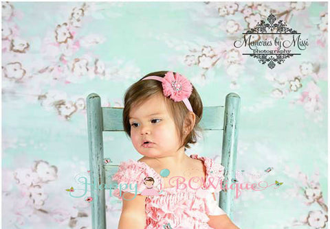 Ballerina Baby Pink Headband - Happy BOWtique - children's clothing, Baby Girl clothing