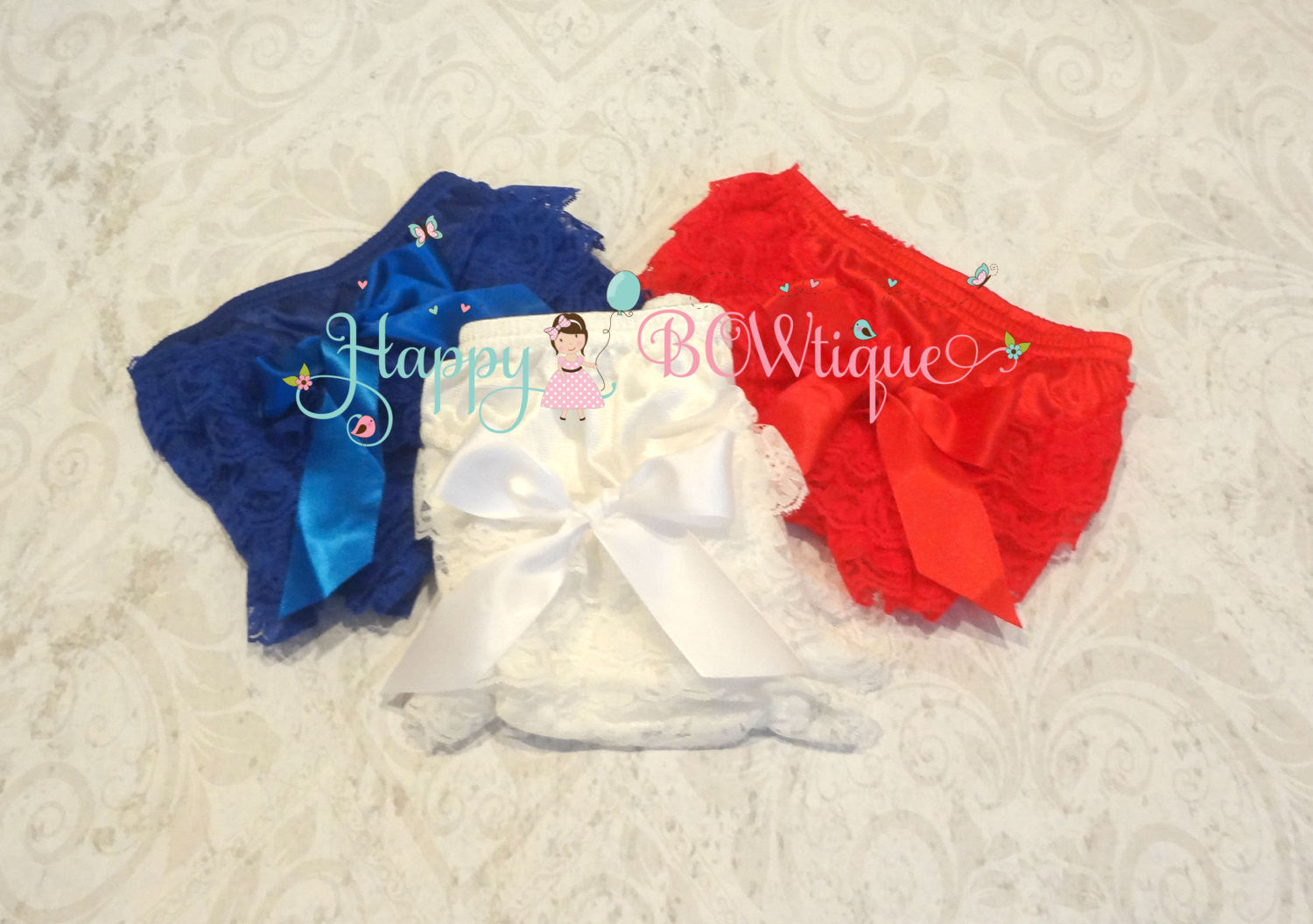U Pick Baby Bloomer/ Baby Petti Lace Bloomer - Happy BOWtique - children's clothing, Baby Girl clothing