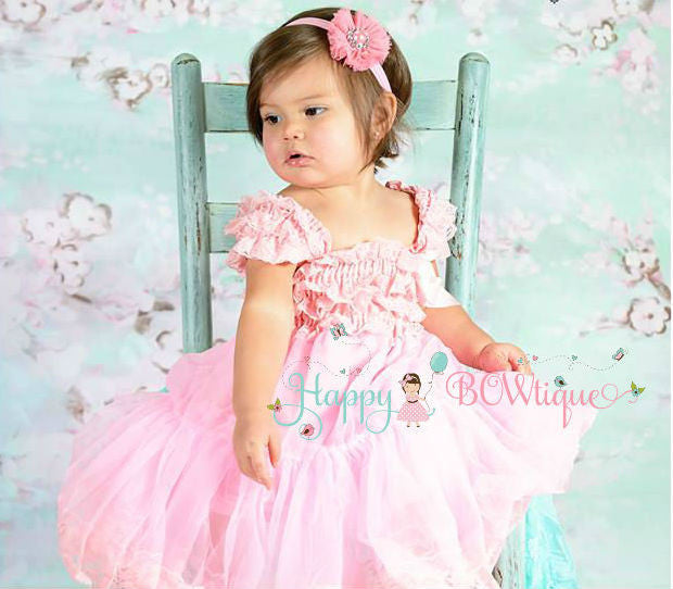 Girl Petti Lace Dress ~ Birthday Dress sets for Girls
