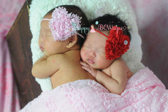 Handcrafted Headbands ~ headbands are beautifully made for Baby Girl