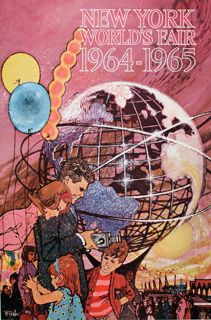 Bob Peak 1964-1965 Worlds Fair Poster