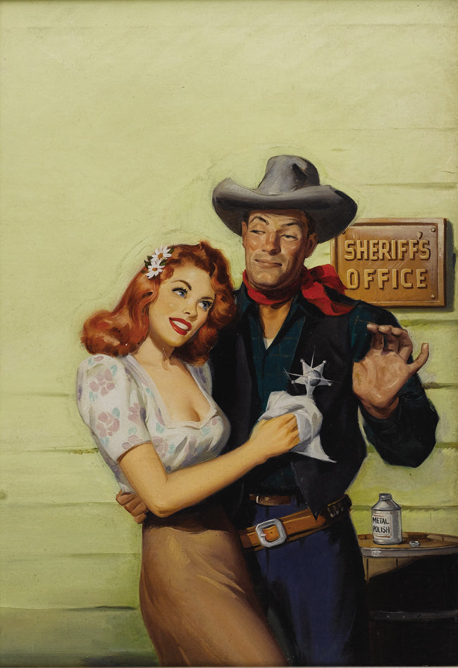 Sam Cherry Rangeland Romances 1947