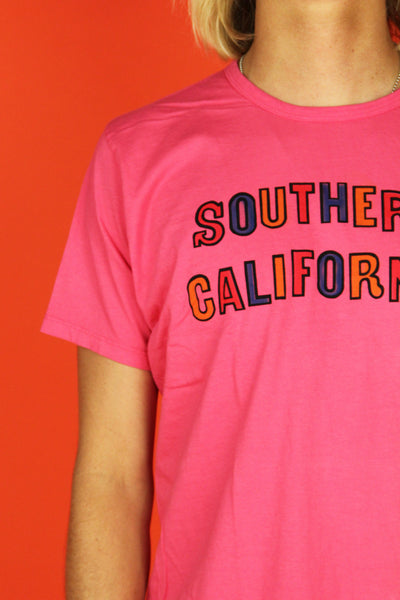 So Cal Tee- Pink Coast