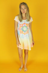 Lotus Tee Shirt Dress