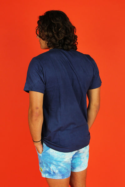 Super Surfer Tee- Navy