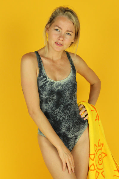 Black Sand One Piece Swimsuit
