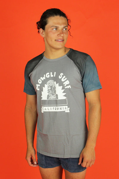 Aloha High Tee- Grey