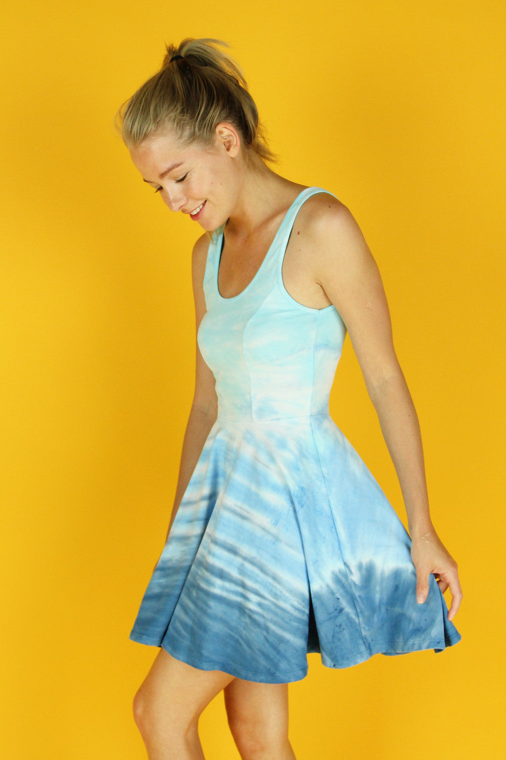 Blue Dance Cali Tank Dress