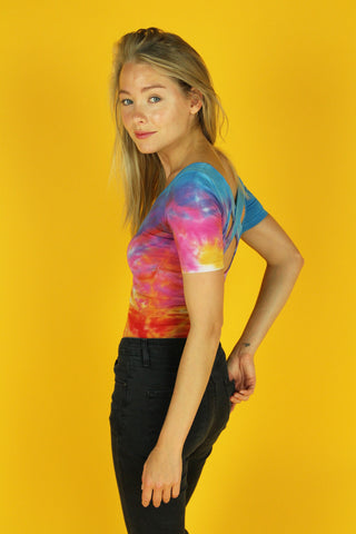 Sherbet Fitted Rib Tee