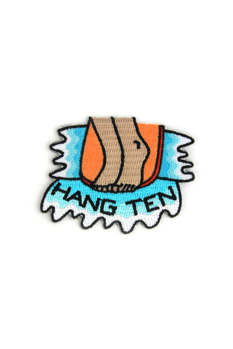 Hang Ten!! Mokuyobi x Mowgli Iron On Patch