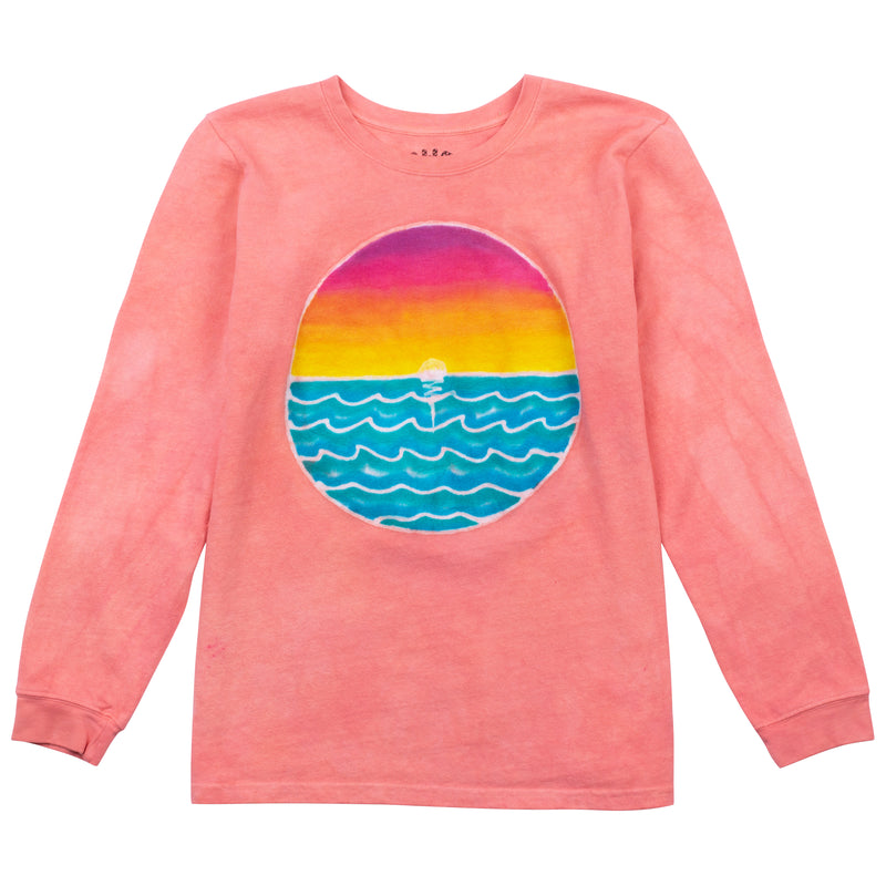 Ocean Sunset - Coral