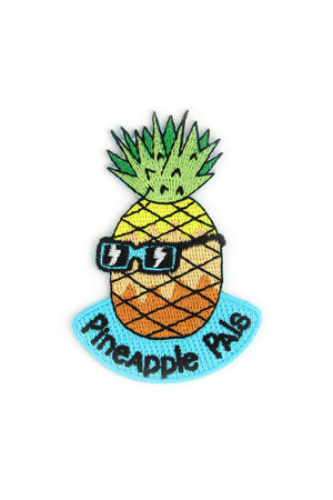Pineapple Pals- Mokuyobi x Mowgli Iron On Patch