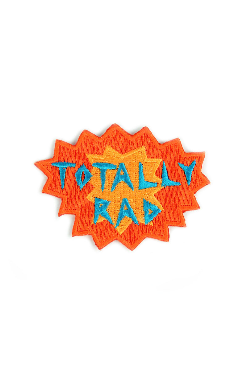 Totally Rad- Mokuyobi x Mowgli Iron On Patch