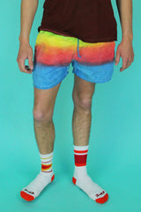 Opal Eyes Elastic Waistband Shorts