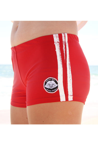 Red Hot Skater Shorts (Tuesday Bassen Collab)