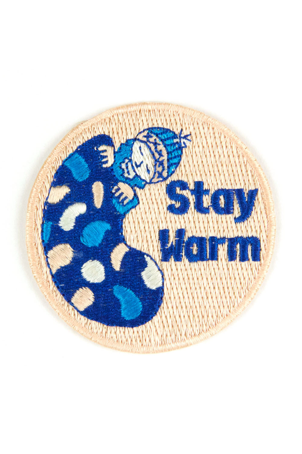 Stay Warm: Mokuyobi x Mowgli Iron On Patch