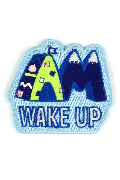 Wake Up: Mokuyobi x Mowgli Iron On Patch