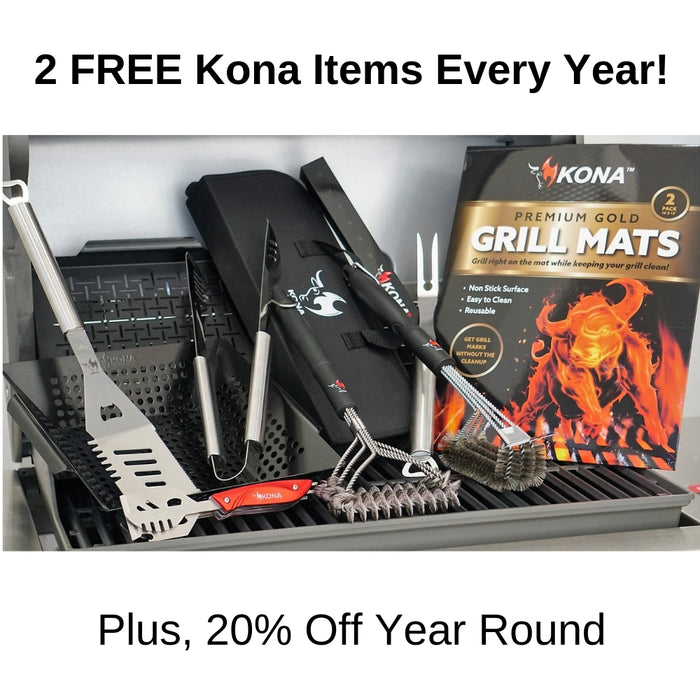 Grillmaster Rewards - FREE Safe/Clean Grill Brush With 7 Day Trial